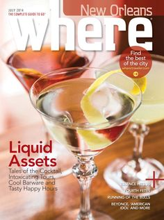 Get your digital subscription/issue of Where New Orleans-July 2014 Magazine on Magzter and enjoy reading the Magazine on iPad, iPhone, Android devices and the web. Running Of The Bulls, Free Magazines, American Idol, Ipod Touch, New Orleans, You Got This, Ipad, Android, Iphone