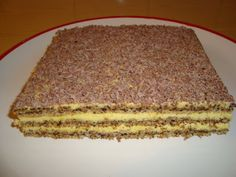 Romanian Desserts, Romanian Food, Sweets Recipes, Cake Recipes, Cooking Recipes, Hungarian Cake, Food Carving, Pastry Cake, Food Cakes
