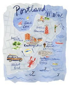 Domino features Portland, Maine, in its summer issue 2016 travel story. Visit Portland, Maine with suggestions from domino including Central Provisions, Drifter's Wife, and J Oyster.