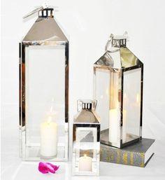 新品特惠: 後現代樣板房常備款 簡約合金玻璃風燈 燭台-淘寶網 Desk Storage, Candle Holders, Candles, Porta Velas, Chandelier, Pillar Candles, Lights, Candlesticks, Candle
