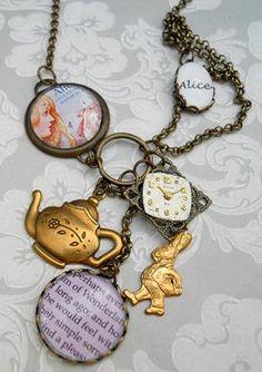 Alice's Adventure necklace