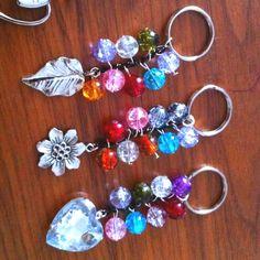Handmade handbag charms / keyrings  Ideal little gifts!