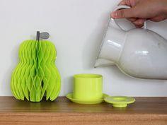 Rocca 紙の加湿器 りんご 洋なし サボテン 紙 ペーパー 加湿器
