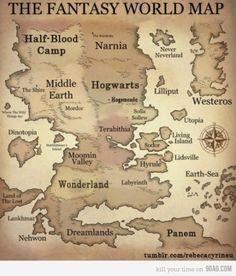 272 Best Fantasy Maps images