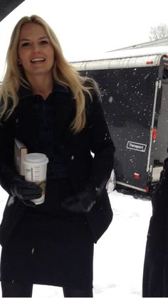 Jennifer Morrison on the set OUAT - February 25, 2014