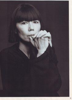 Rei Kawakubo ( comme des garçons ) She helped awaken my sensory to detail.