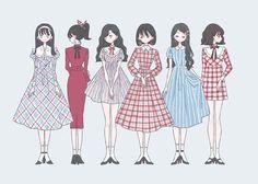 Pin by sakura princekamui on manga in 2019 Cartoon Kunst, Cartoon Art, Cute Girl Drawing, Cute Drawings, Kawaii Anime Girl, Anime Art Girl, Design Alien, Character Design Girl, Cute Art Styles