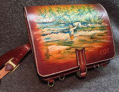 James Acord's Leather. All hand made fly fishing equipment cases ...
