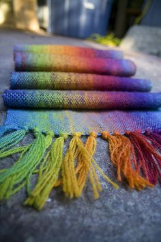 woven rainbows by fog and swell, via Flickr