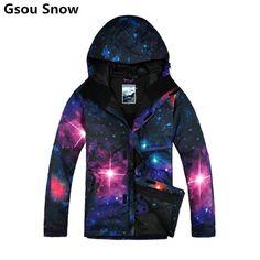 9e3322779a Winter Gsou ski jackets men snowboard jacket skiing coat snow suits  chaqueta esqui hombre veste ski