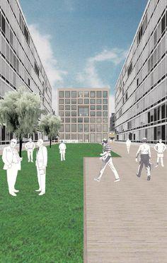 Galería de 12 oficinas que representan atmósferas arquitectónicas usando collage - 45