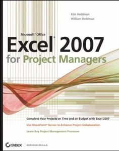 Microsoft Office Excel 2007 for Project Managers Combine the power of Excel 2007, Microsoft Office SharePoint Server, and sound project management tools to boost your skill set and maximize your productivity. You'll walk through a project and learn how to use these powerful tools to schedule jobs, create budgets, manage processes, and share project information. Whether new to project management or a veteran, you'll discover techniques, hints, and examples you can use immediately.
