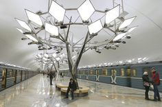 В Москве открылась новая станция метро «Тропарево» - Газета.Ru | Фото