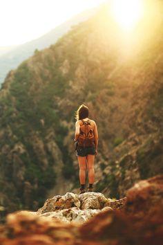Le plaisir de la randonnée, soleil, nature, dépaysement