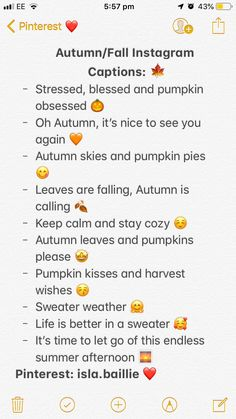 These captions are perfect for getting you all through fall/autumn. Lit Captions, Instagram Captions For Friends, Cute Instagram Captions, Selfie Captions, Fall Insta Captions, Captions For Pictures, Instagram Picture Quotes, Fall Quotes For Instagram, Good Instagram Bios