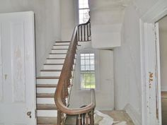 1850 staircase | this is the back staircase and the first ones I found
