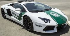 Lamborghini Aventador Dubai Police