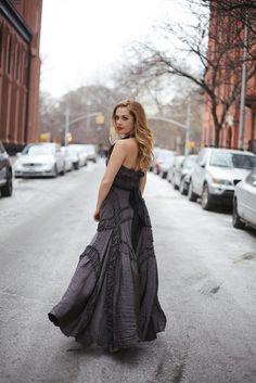 Actress Natalie Hall by photographer Emma Lauren