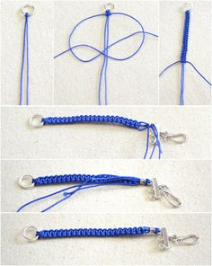 How to Braid Triple Paracord Bracelets This friendship bracelet tutorial is gonna tutor you a beginner-way regarding how to make a triple-paracord-braiding bracelet with 3 different but similar colors of threads in ombre style. Hemp Bracelets, Bracelet Knots, Bracelet Crafts, Braided Bracelets, Paracord Bracelets, Bracelet Making, Diy Friendship Bracelets Tutorial, Friendship Bracelet Patterns, Bracelet Tutorial