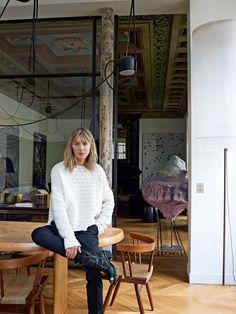 A casa di Cécilia Bönström • Direttore creativo di Zadig & Voltaire