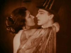 They thought that Rudy Valentino was in this picture. No, it was John Barrymore. Nita Naldi has met him and Rudy Valentino.