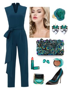 """Butterfly♡"" by ahumadarosy on Polyvore featuring TIBI, Manolo Blahnik, Accessorize, Vivienne Westwood, Lipstick Queen, Marc Jacobs, Guerlain and Nak Armstrong"