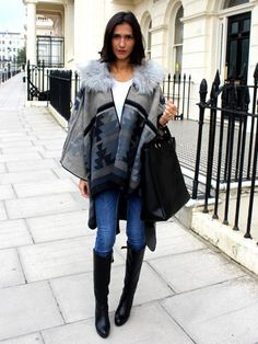 Are capes the next big thing? Discuss... http://lookm.ag/vF0lhI #LOOKOfTheDay