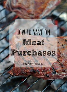 Meat is one of the biggest expenses in the grocery budget. However, there are ways that you can save money on your meat purchases without having to cross it off your list. Especially if you make use of these tips!