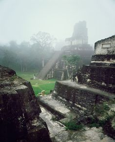 Tikal, Guatemala An ancient Mayan city, mysterious and waiting to be explored.