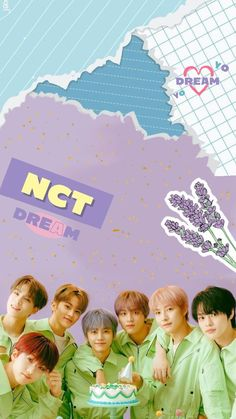 Wallpapers Kpop, Cute Cartoon Wallpapers, Pretty Wallpapers, K Wallpaper, Cute Wallpaper Backgrounds, Polaroid Decoration, Nct Group, Nct Dream Jaemin, Nct Life