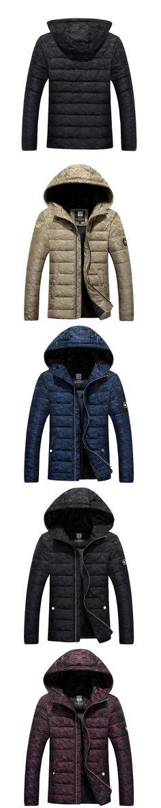2017 Hot Brand Winter Jacket Men Warm Down Jacket Casual Parka Men padded Winter Jacket Casual Handsome Winter Coat