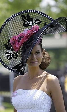 Royal Ascot  * ♥ * https://www.facebook.com/SWWLS.Dallas www.SocietyOfWomenWhoLoveShoes.org