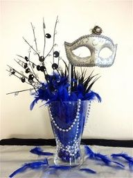 masquerade ball centerpiece ideas -