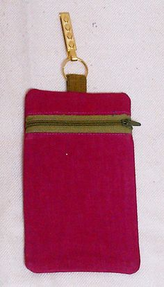 Hip Pouches. Can be fixed on saris, jeans, skirts etc. Don't have to carry them in your hands...just fix them on to your jeans/skirts/saris and you're done