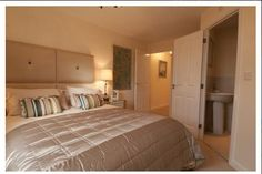Bedrooms with en-suite bathrooms.  #newhomes