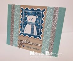 Heartfelt Sentiments: October Stamp of the Month Blog Hop - Home for the Holidays