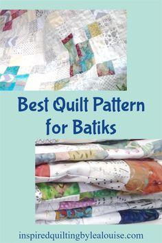 Low Volume Quilts with Bright Colors combine low volume & batik fabrics for a beautiful batik quilt. Free Batik Quilt Pattern using fat quarters. Diy Quilting Projects, Baby Quilt Tutorials, Quilting 101, Rag Quilt Patterns, Beginner Quilt Patterns, Charm Square Quilt, Low Volume Quilt, Baby Rag Quilts, Fat Quarter Quilt