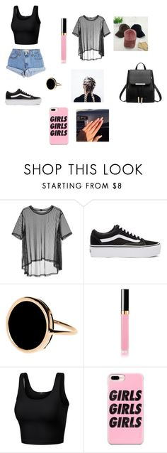 """Estilo"" by barbara-hernandez-garcia on Polyvore featuring Levi's, Taylor, Vans, Ginette NY, ASOS, Casetify, men's fashion y menswear"