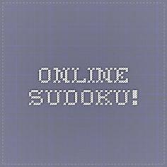 Online Sudoku!