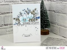 """Australe : #Tampons et #matrices de coupe #dies #4enSCRAP """"Merry #Christmas 2"""" #hiver #scrapbooking #DIY #loisirscréatifs #carte #carterie Scrapbooking Diy, Tampons Transparents, Card Ideas, Merry Christmas, Creations, Happy, Cards, Pretty Cards, Greeting Cards"""