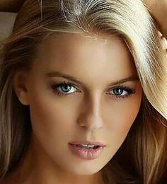 Most Beautiful Faces, Gorgeous Eyes, Gorgeous Women, Girl Face, Woman Face, Pure Beauty, Beauty Women, Nude Makeup, Blonde Beauty