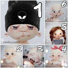 Fabric Dolls, Doll Clothes, Face, Handmade, Amor, Baby Dolls, Faces, Paintings, Baby Doll Clothes