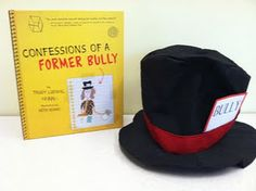 """I Made a Bully Hat! Great for classroom lessons using """"Confessions of a Former Bully!"""