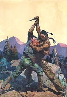 pulp western art | Pulp Art: Western /