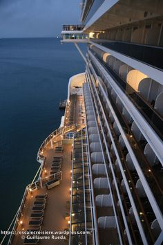 This unique photo is certainly an interesting design concept. Cruise Travel, Cruise Vacation, Dream Vacations, Cruise Ship Reviews, Best Cruise Ships, Cozumel Mexico Cruise, Semester At Sea, Msc Cruises, World Cruise