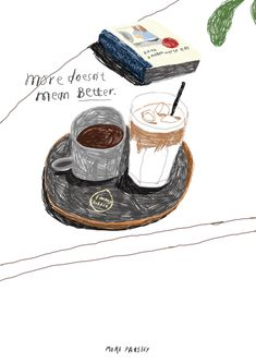 seoul coffee shop illustration by moreparsley If you make some kind of coffee ar. - seoul coffee shop illustration by moreparsley If you make some kind of coffee art & illustration, p - Coffee Art, Coffee Shop, Cozy Coffee, Coffee Drawing, Iced Coffee, Tee Illustration, Coffee Presentation, Food Drawing, Food Illustrations