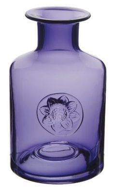 Dartington Crystal Flower Bottle - Anemone