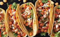 Fiery chickpeas are paired with a cooling, creamy dairy-free celery ranch sauce in a taco shell in this easy weeknight dinner recipe. Toss the chickpeas in Buffalo sauce, add some roasted vegetable…