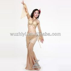 Qiancai Wuchieal professional Belly Dancing clothes,stage performance sexy arab belly dance costumes (QC1402), View sexy arab belly dance co...