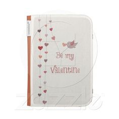 Bird with Heart Vines Valentines caseable cases